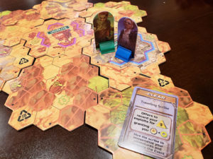 Neon Dawn Game Board