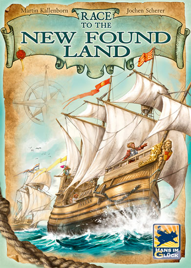 Race to the New Found Land Review | Board Game Quest image