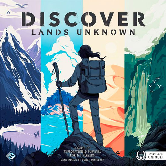 Discover: Lands Unknown Review | Board Game Quest image