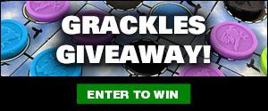 Grackles Giveaway