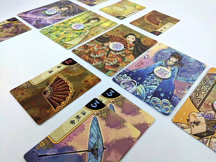 Hanamikoji Game Experience