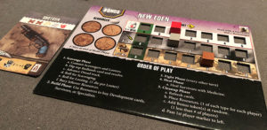 Remnants Player Board