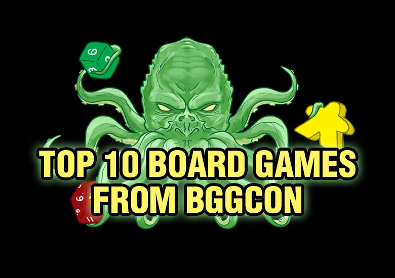 Top 10 Games from BGGcon