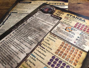 Too Many Bones: Undertow Character Sheet