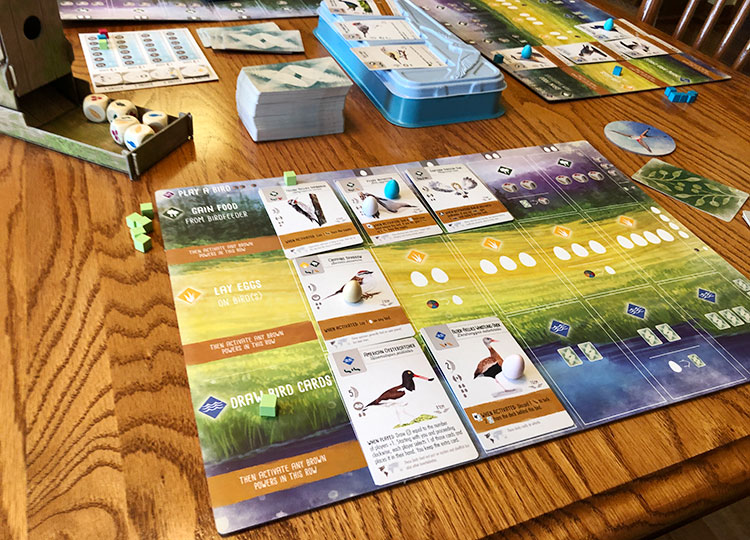 Wingspan Game Experience