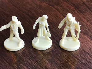 Axis and Allies and Zombies Minis