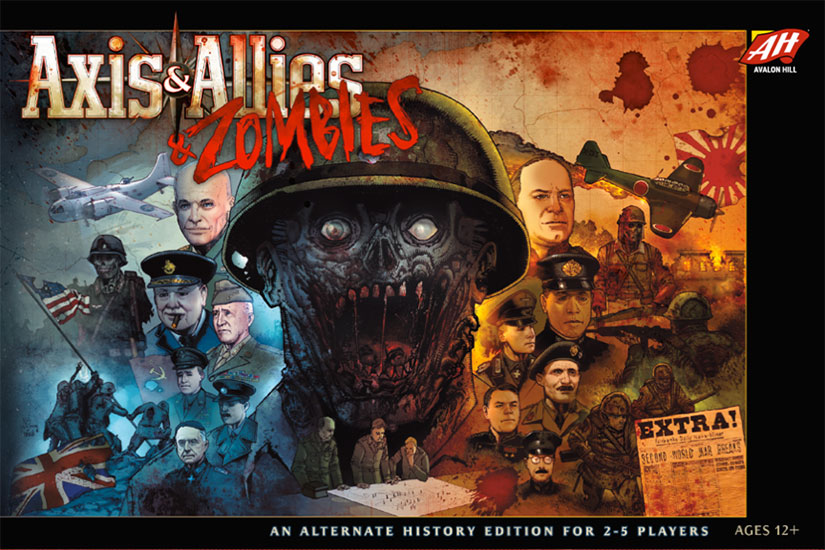 Review: Axis & Allies & Zombies image