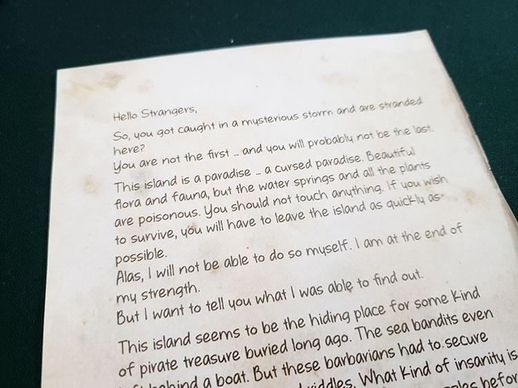 Exit Forgotten Island Text