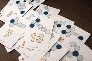 Hexagone Cards