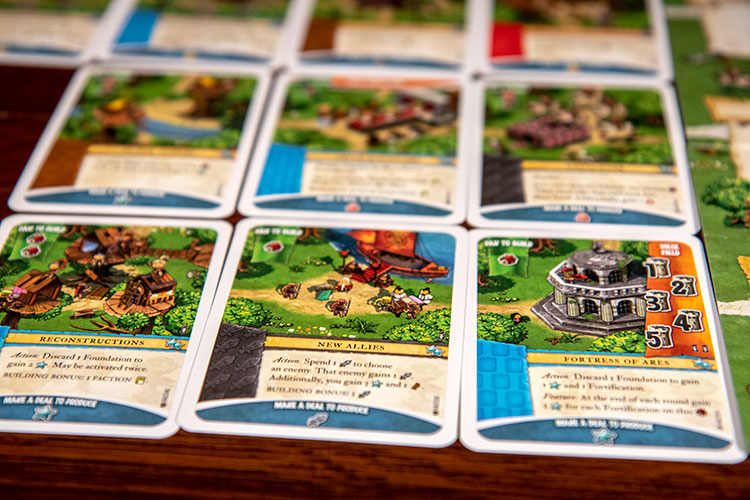Imperial Settlers: Amazons Actions