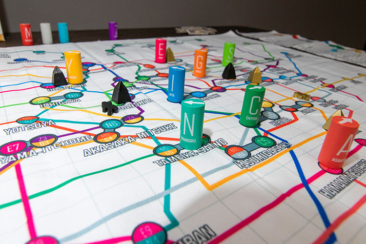 Tokyo Metro Game Experience