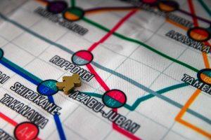 Tokyo Metro Marker