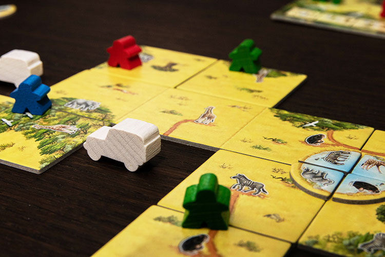 Carcassonne Safari Game Experience