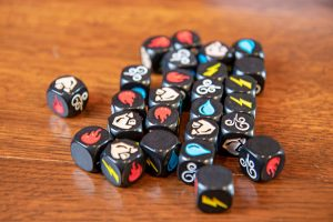 Impact: Battle of the Elements Dice