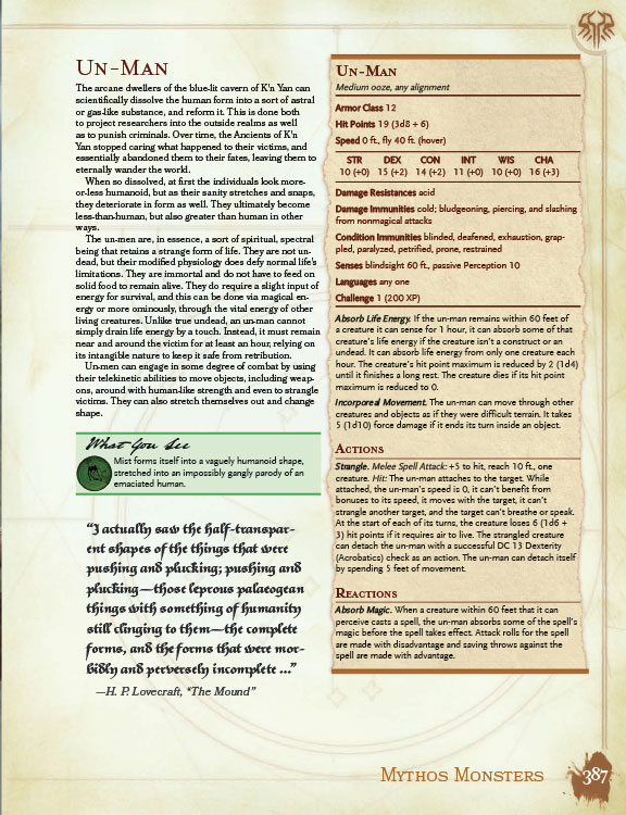 Sandy Petersen's Cthulhu Mythos for DnD 5e Review | Board