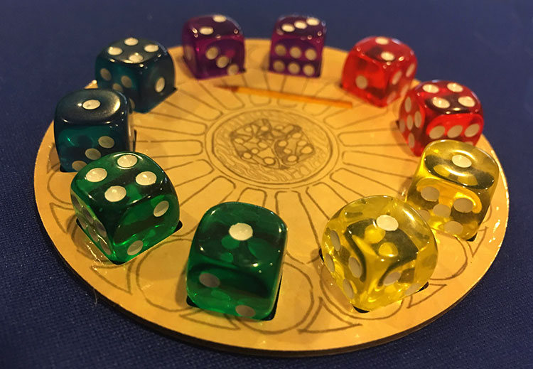 Sagrada Expansion Dice