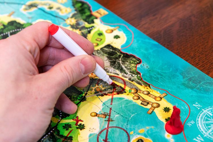 Treasure Island Drawing