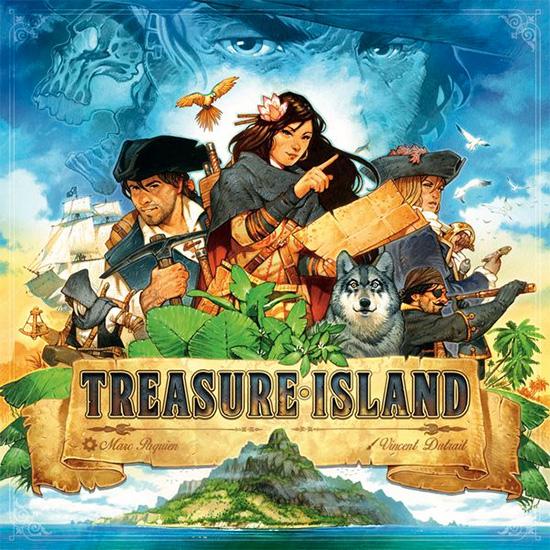 Treasure Island Review | Board Game Quest