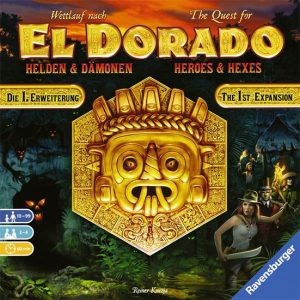 Quest for El Dorado Heroes and Hexes Expansion