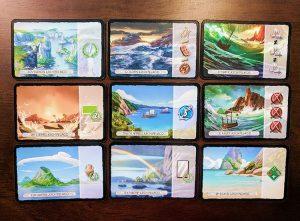7 Wonders Armada Island Cards