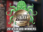 2018 Board Game Award Winners