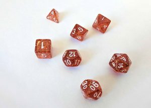 Oakie Doakie Dice Orange