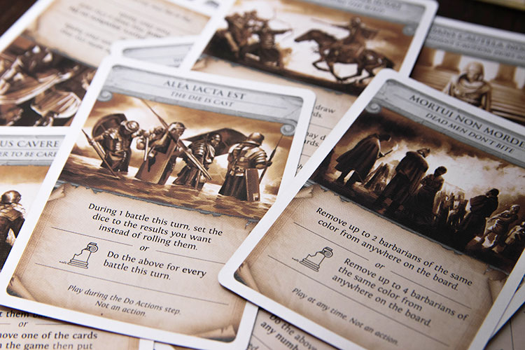 Pandemic: Fall of Rome Cards