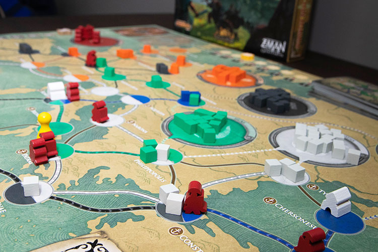 Pandemic: Fall of Rome Game Experience