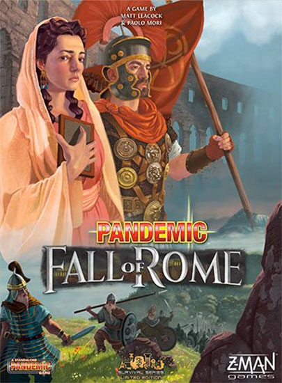 Pandemic: Fall of Rome Review image