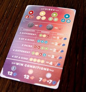 Cerebria: The Card Game Player Aid
