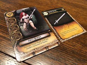 Red Sonja Hyrkanias Legacy Character
