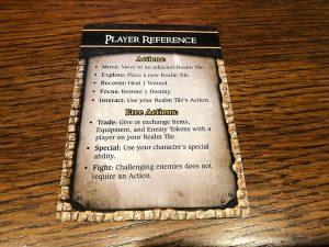 Red Sonja Hyrkanias Legacy Player Aid