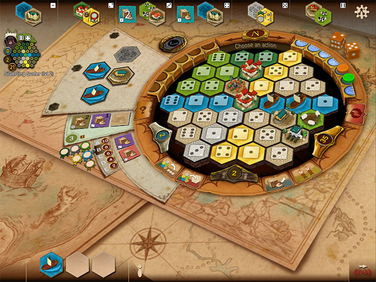Castles of Burgundy iOS Game Experience