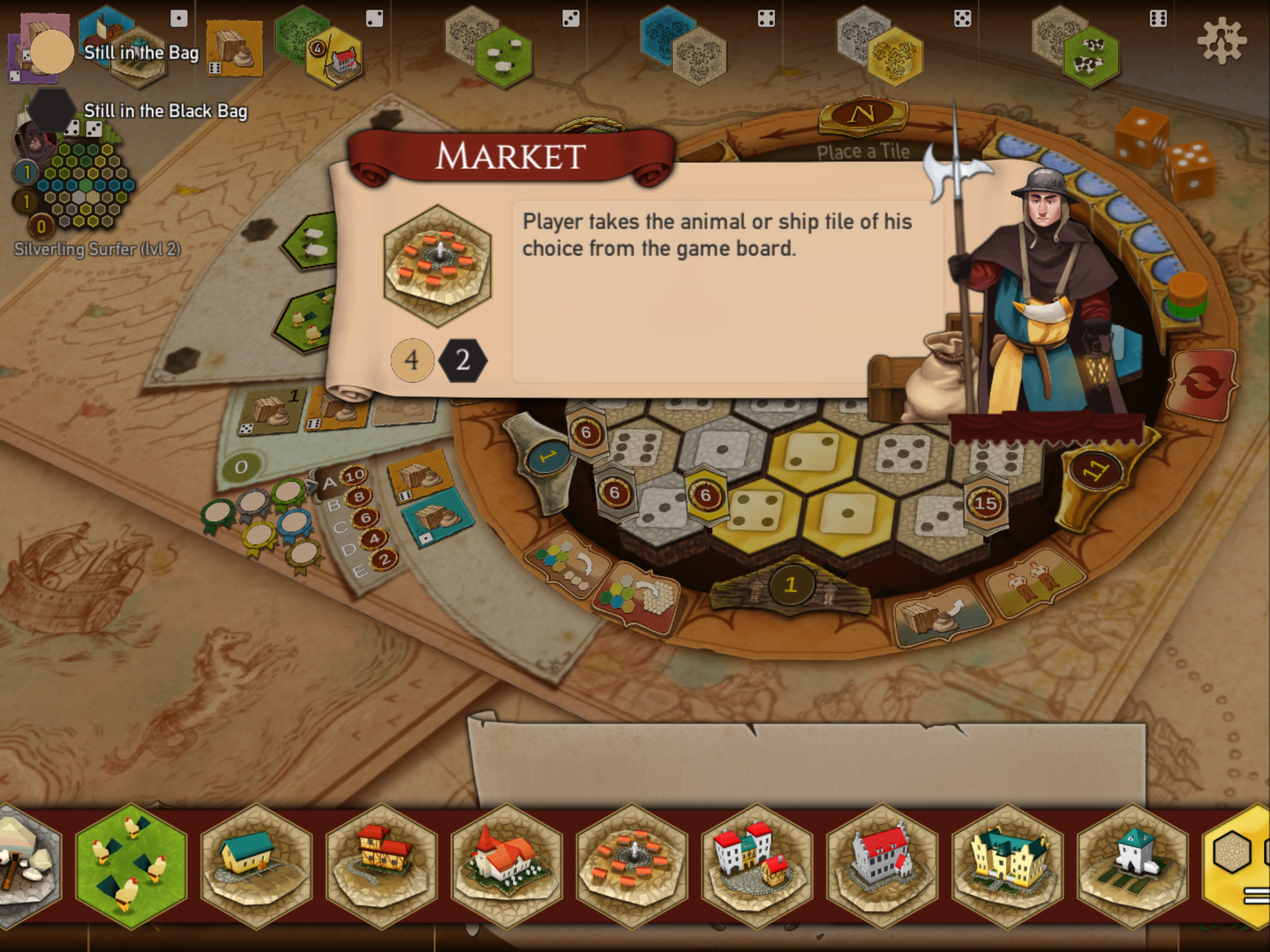 Castles of Burgundy iOS Review | Board Game Quest