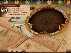 Castles of Burgundy iOS tutorial