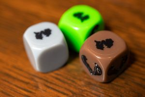 Robinson Crusoe Mystery Tales Expansion Dice
