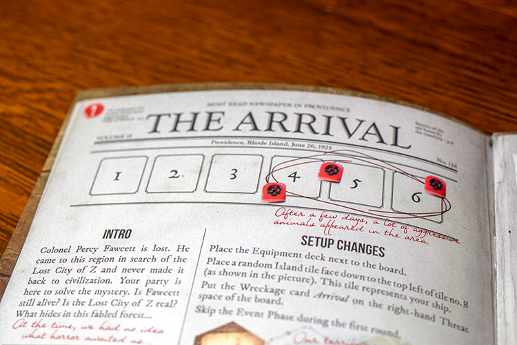 Robinson Crusoe Mystery Tales Expansion Mission