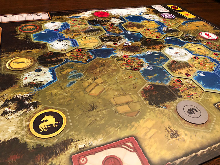 Scythe Modular Board Game Experience