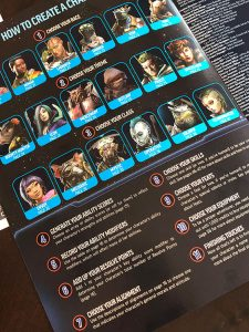 Starfinder Beginner Box Character Creation