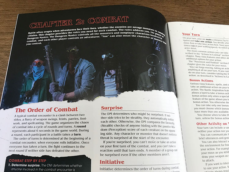 Stranger Things Dungeons and Dragons Combat