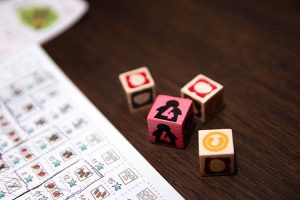 Imperial Settler Roll and Write Dice