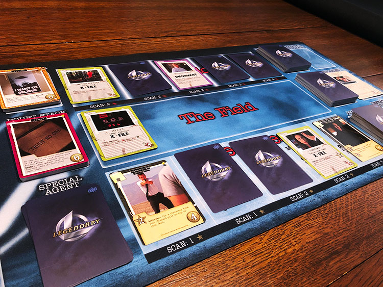 Legendary Encounters: X-Files Game Experience