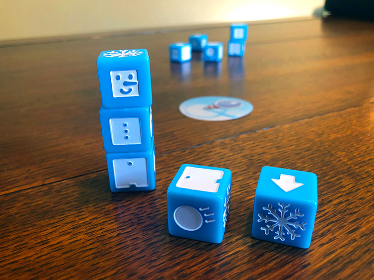 Snowman Dice Game Experience