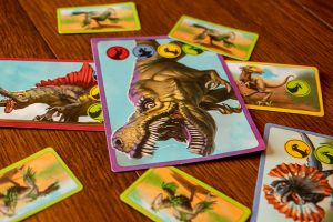 Dino World Cards