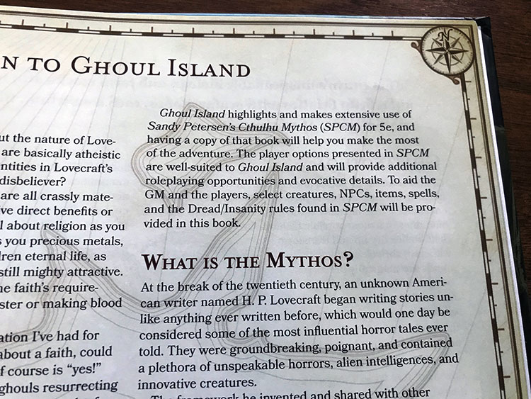 Ghoul Island Intro