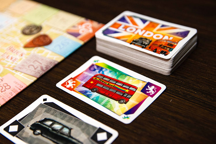 Ticket to Ride: London Cards