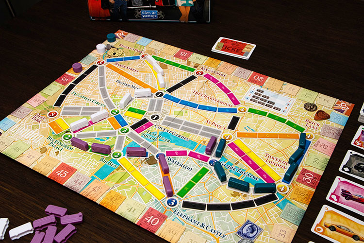 Ticket to Ride: London Game Experience