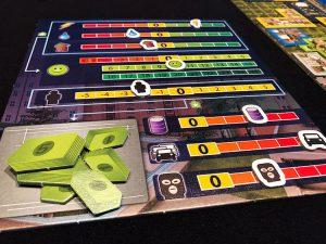 Cities: Skylines – The Board Game Meters