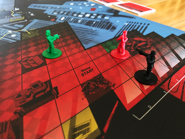 Die Hard: The Board Game Game Experience