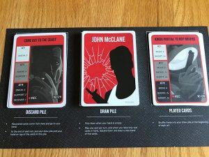 Die Hard: The Board Game McClane Cards